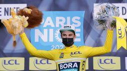 Schachmann vince in extremis la Parigi-Nizza, beffa atroce per Roglic