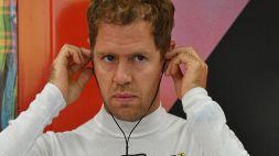 F1, squalificato Vettel: sul podio la Ferrari di Carlos Sainz