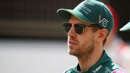 """F1, Vettel: """"Spero ancora nella pioggia"""""""