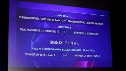 Champions League 2020/2021, sorteggio quarti: il tabellone