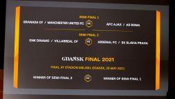 Europa League 2020-2021, il sorteggio dei quarti