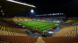 Parma: un calciatore positivo al Coronavirus