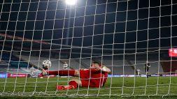 """Mitrovic risponde a Ronaldo: """"Non credo che la palla sia entrata"""""""