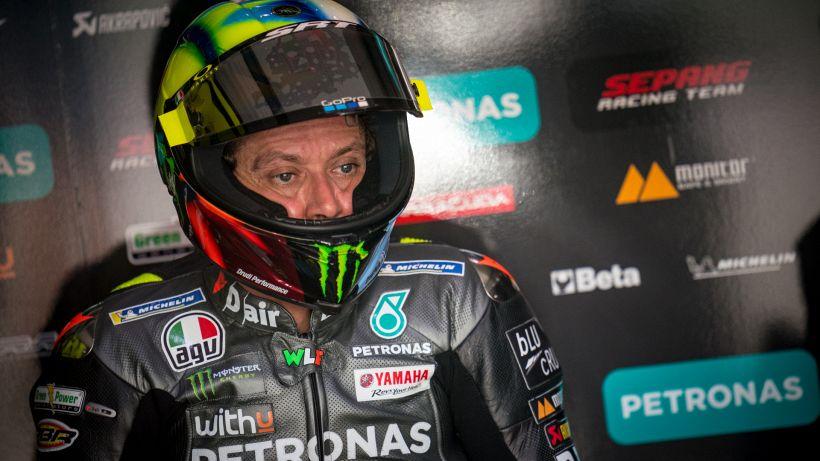"""MotoGP, tutta l'amarezza di Valentino Rossi: """"Quanta fatica"""""""