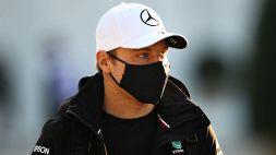 F1, Valtteri Bottas parla di fronte alla sua Mercedes W12 E-Performance