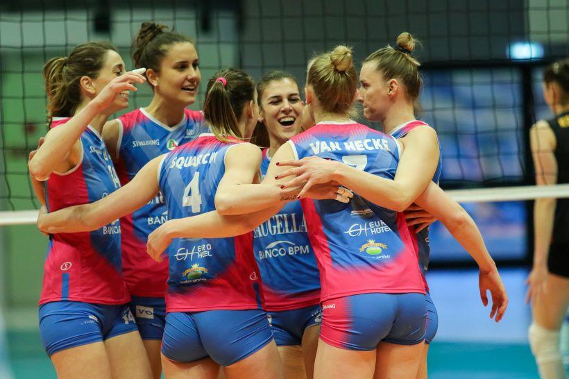 Volley, la Saugella si gioca a Istanbul la CEV Cup