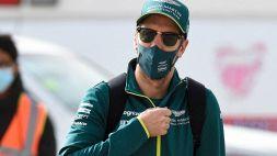 """Vettel: """"Non vado nel panico ma..."""""""