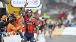 Vincenzo Nibali supera un traguardo storico