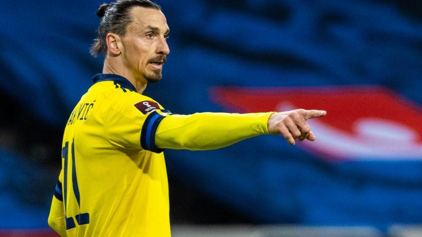 Ibrahimovic lascia l'allenamento della Svezia dopo 15 minuti