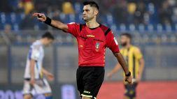 Serie B, 35a giornata: le designazioni arbitrali
