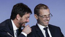 Super Lega, Agnelli-Ceferin: amicizia tradita e il legame privato