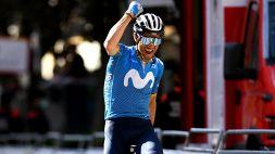 Infinito Valverde: trionfo al Gp Indurain a 41 anni