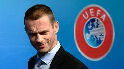 """UEFA, Ceferin: """"La Superlega è una proposta orribile. Agnelli? Un bugiardo"""""""