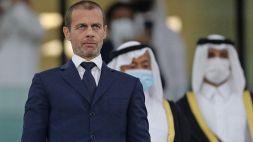 Il piano dell'UEFA: nuove regole e coppe blindate