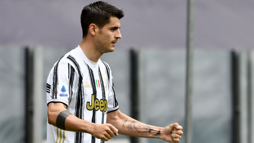 Serie A, Juventus: ecco la decisione su Alvaro Morata