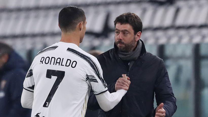 """Cristiano Ronaldo alla Juve, Agnelli: """"Lo rifarei domani, e anche Pirlo"""""""