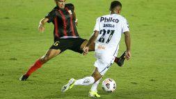 Santos, Angelo fa la storia: goal più giovane di sempre in Libertadores