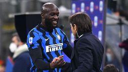 Inter, Lukaku saluta Antonio Conte