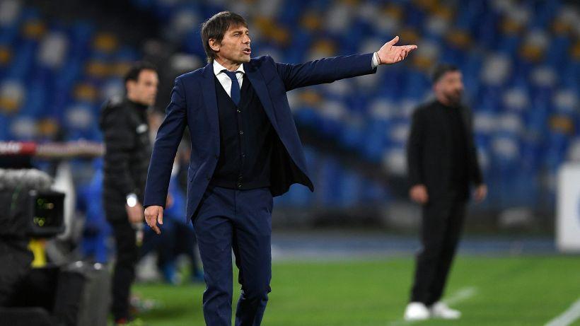 """Inter, Conte è chiaro: """"Non dobbiamo far sperare chi ci insegue"""""""