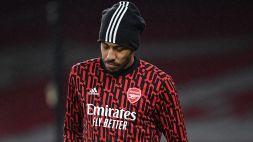 "Arsenal, annuncio Aubameyang: ""Ho contratto la malaria"""