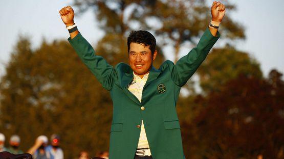 Augusta Masters, le foto della vittoria di Hideki Matsuyama