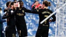 Liga: occasione sorpasso per il Barcellona