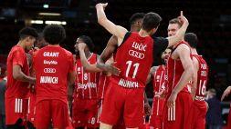 Eurolega: Bayern Monaco-Olimpia Milano 85-82, le foto