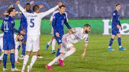 Champions, Real Madrid salvato da Benzema: 1-1 contro il Chelsea