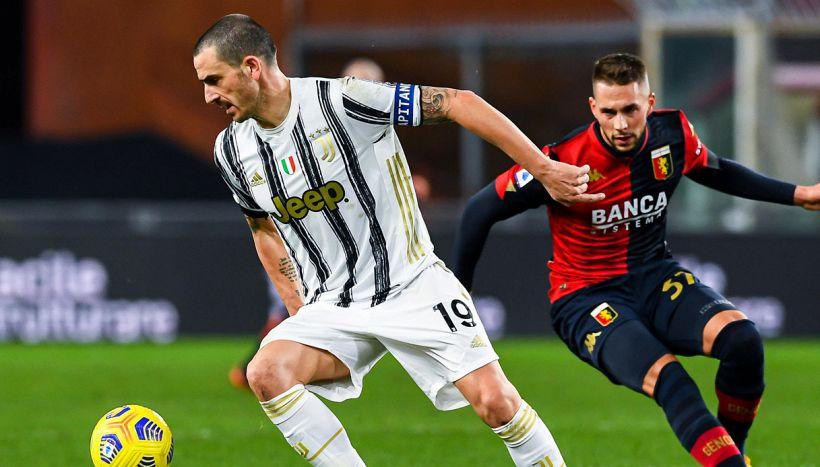 Juventus, comunicato ufficiale: Bonucci positivo al Covid