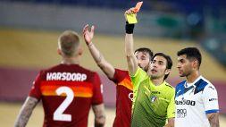 Serie A: gli arbitri della 34a giornata