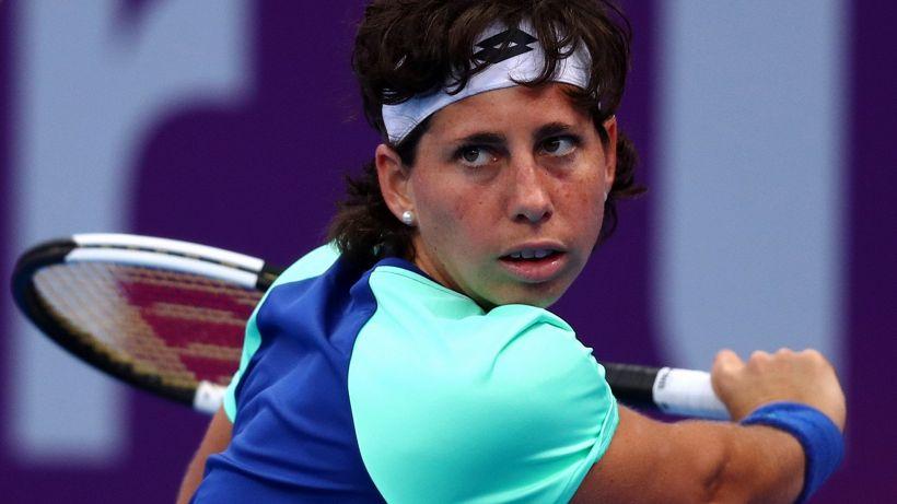 Tennis, incubo finito per la Suarez Navarro: guarita dal tumore