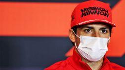 "F1, Sainz: ""Male con le gomme medie"""