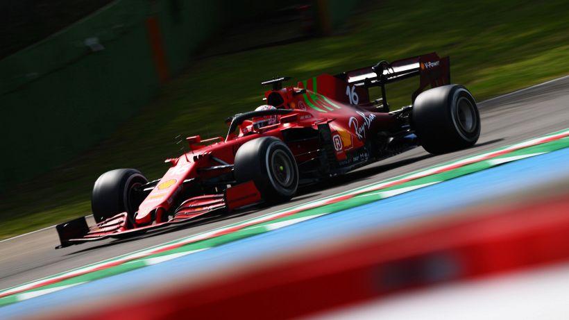 Le Ferrari braccano i favoriti nelle prime libere di Imola