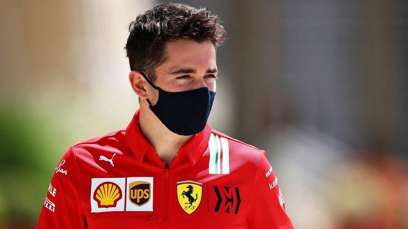 """F1, Leclerc: """"La Ferrari non può essere da 5°-6° posto"""""""
