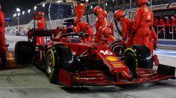 F1, Leclerc scalda i motori a Fiorano e intanto la Ferrari gli fa un regalo