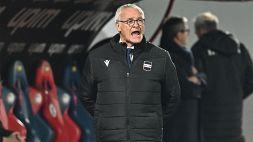 Serie A, Sassuolo-Sampdoria: i convocati di Claudio Ranieri