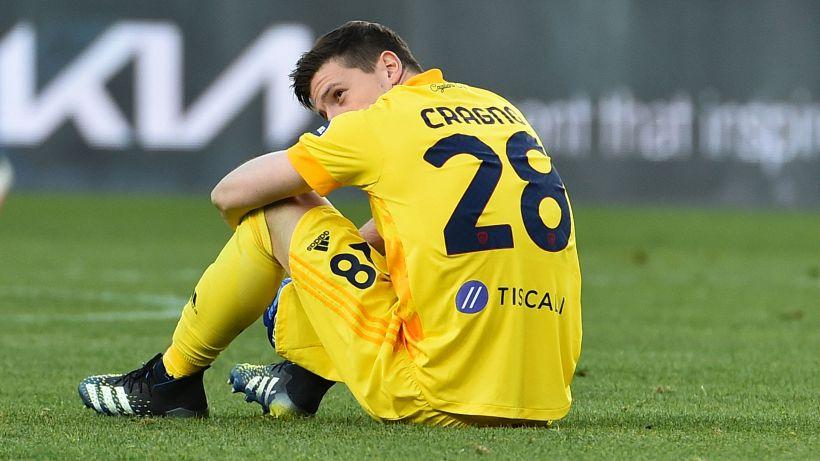 Tegola Cragno per il Cagliari: positivo al Covid-19