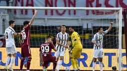 Cristiano Ronaldo salva la Juventus: Torino beffato