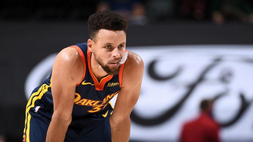 """Curry amaro: """"Difficile parlare adesso di futuro"""""""