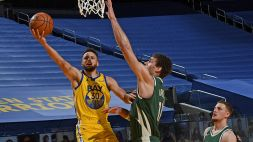 NBA: altro show di Curry, ok Gallinari e Lakers