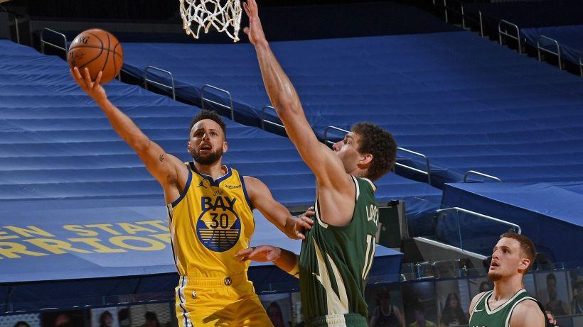NBA: altro show di Curry, ok Gallinari e Lakers