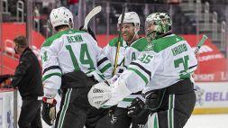 NHL: gioia all'overtime per Dallas, brilla Vegas