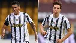 Juventus, Chiesa e Danilo verso la titolarità contro l'Udinese