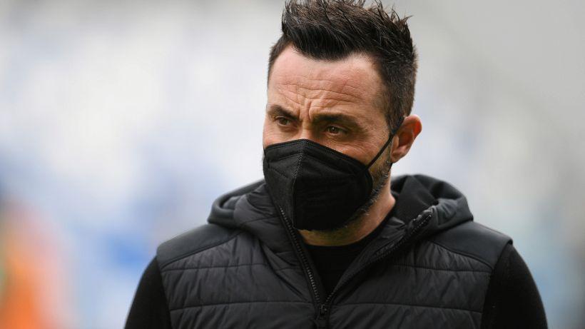 """De Zerbi: """"Ferrari, Locatelli e Muldur fuori anche per Inter-Sassuolo"""""""