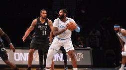 NBA: i Lakers dominano nel segno di Drummond