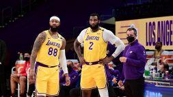 NBA: boccata d'ossigeno per i LA Lakers