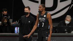 Nba, preoccupa l'infortunio di Kevin Durant