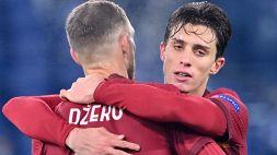 Nel 2018 la dedica di Dzeko: Calafiori ricambia con l'assist