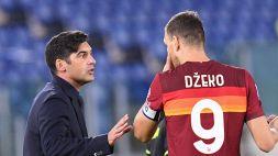 """Roma, Fonseca spegne le polemiche: """"La squadra è unita"""""""