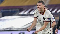 """Europa League, Dzeko: """"United favorito ma possiamo giocarcela"""""""